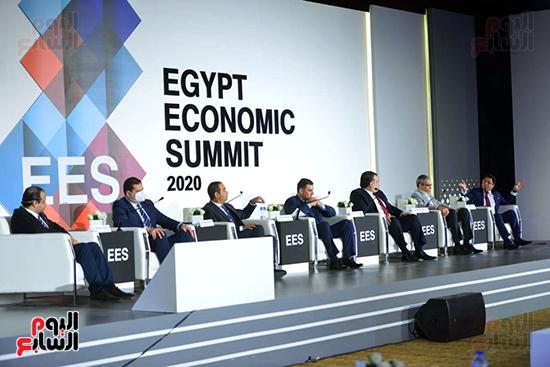 جلسات المؤتمر الاقتصادى (18)