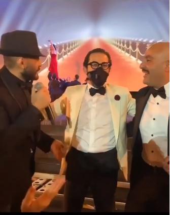 تامر حسني وأحمد حلمى