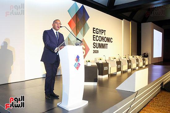 الجلسة الثانية بـقمة مصر الاقتصادية (73)
