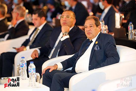 الجلسة الثانية بـقمة مصر الاقتصادية (1)