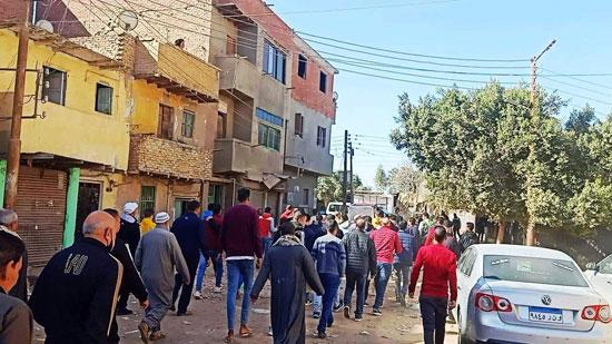 تشييع جثمان محمد الفكهانى (1)