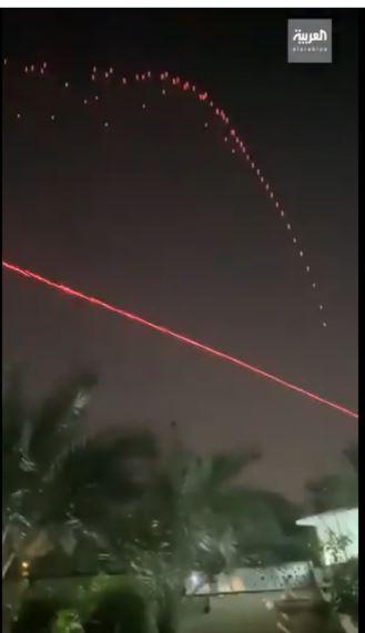 إطلاق الصواريخ باتجاه السفارة الأمريكية في بغداد