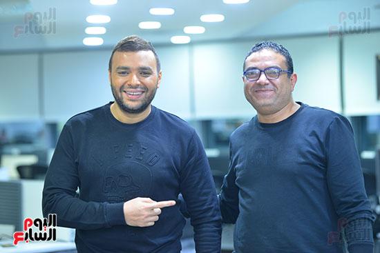 رامى صبرى والزميل محمد رؤوف