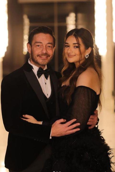 أحمد زاهر وابنته