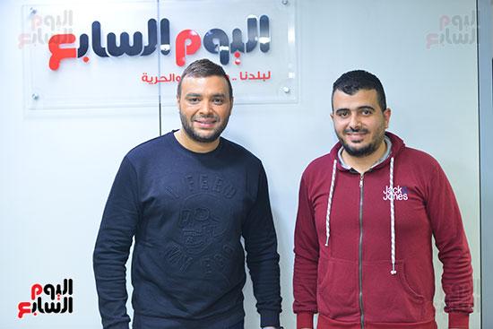 رامى صبرى والزميل محمد محسوب