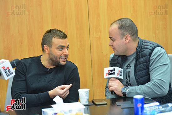 رامى صبرى فى حواره مع عمرو صحصاح لتليفزيون اليوم السابع