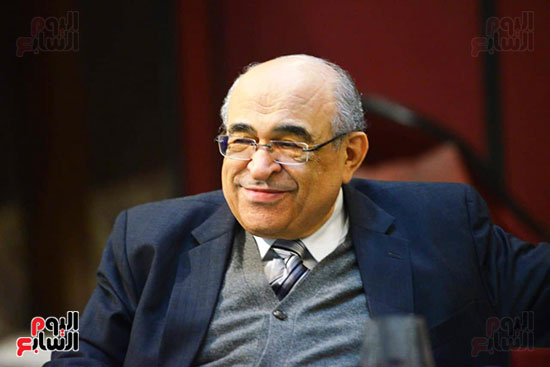 المفكر مصطفى الفقى رئيس مكتبة الإسكندرية