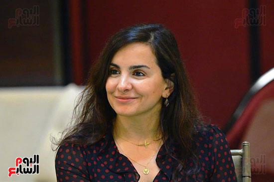 السيدة نورا بدوى المدير التنفيذى بمجموعة خلف الحبتور