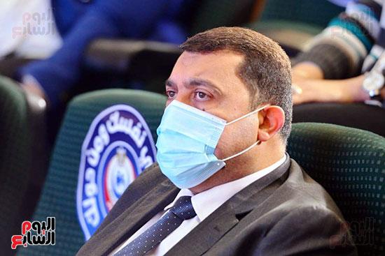 مؤتمر بحضور اللجنة العلمية لمكافحة فيروس كورونا المستجد (3)
