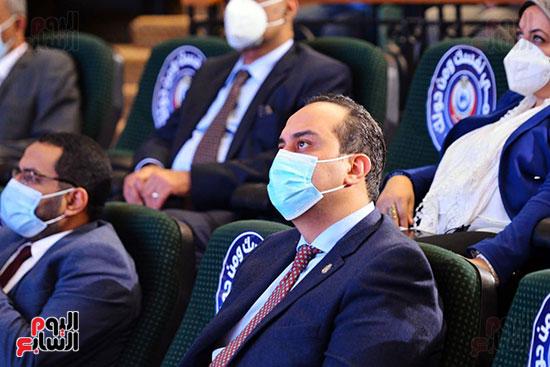 مؤتمر بحضور اللجنة العلمية لمكافحة فيروس كورونا المستجد (2)