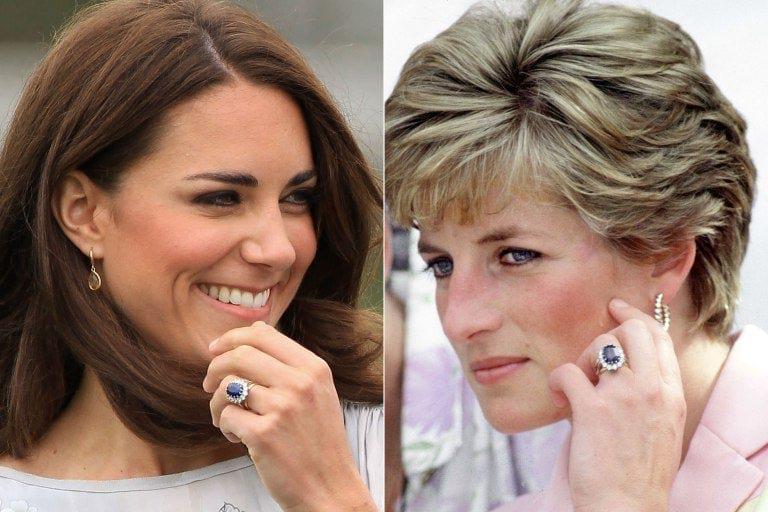 خاتم خطوبة الأميرة ديانا