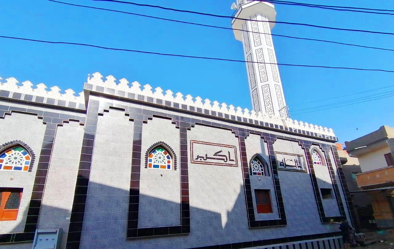 أحد المساجد المقرر افتتاحها اليوم
