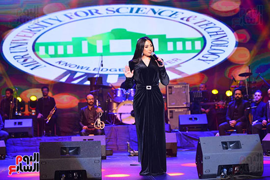 حفل بوسى فى جامعة مصر للعلوم والتكنولوجيا