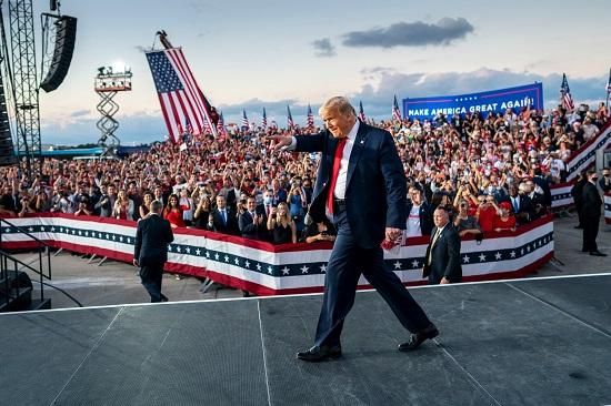 الحملة الانتخابية لترامب