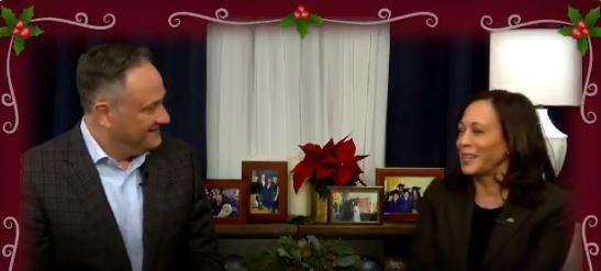 Kamala Harris celebrates Christmas