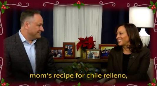 Kamala Harris celebrates Christmas with husband Douglas Imhoff
