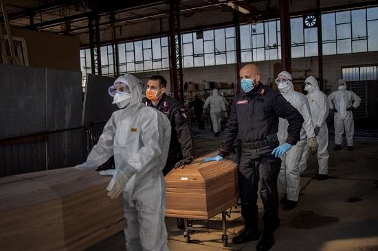 حرق الجثث في ألمانيا مع زيادة الوفيات الناجمة عن كورونا