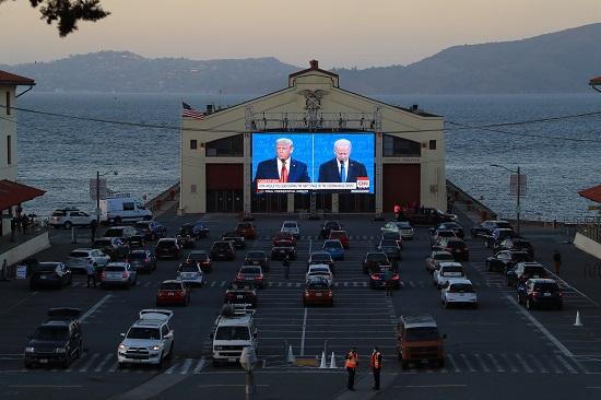 المناظرة بين ترامب وبايدن