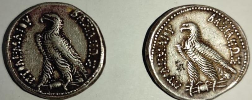 العملات الأثرية المظبوطة قبل تهريبها