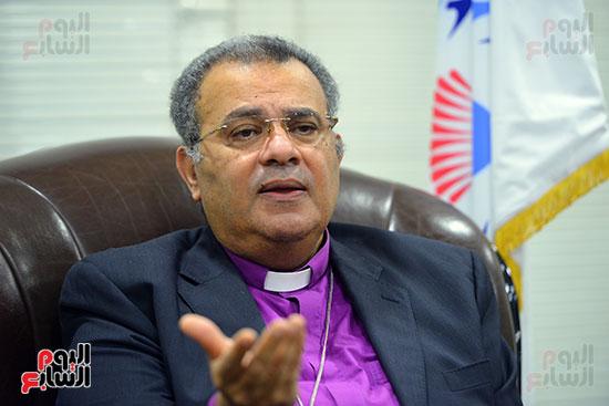 الدكتور القس أندرية زكى رئيس الكنيسة الإنجيلية فى مصر (14)