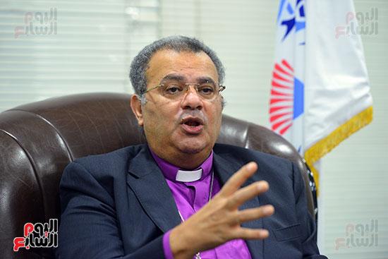 الدكتور القس أندرية زكى رئيس الكنيسة الإنجيلية فى مصر (13)