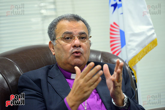 الدكتور القس أندرية زكى رئيس الكنيسة الإنجيلية فى مصر (11)