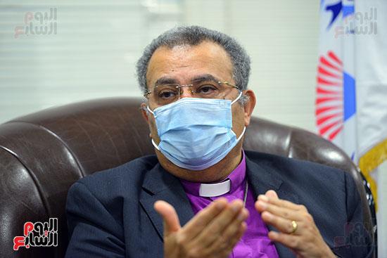 الدكتور القس أندرية زكى رئيس الكنيسة الإنجيلية فى مصر (10)