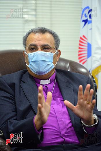 الدكتور القس أندرية زكى رئيس الكنيسة الإنجيلية فى مصر (8)