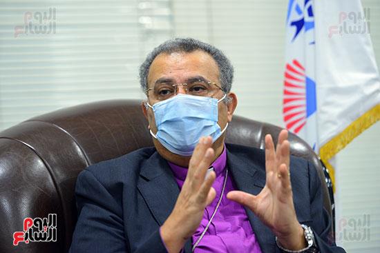 الدكتور القس أندرية زكى رئيس الكنيسة الإنجيلية فى مصر (9)