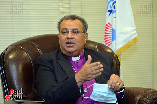 الدكتور القس أندرية زكى رئيس الكنيسة الإنجيلية فى مصر (3)