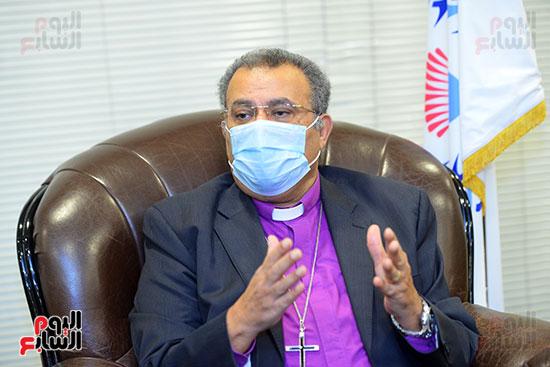 الدكتور القس أندرية زكى رئيس الكنيسة الإنجيلية فى مصر (2)