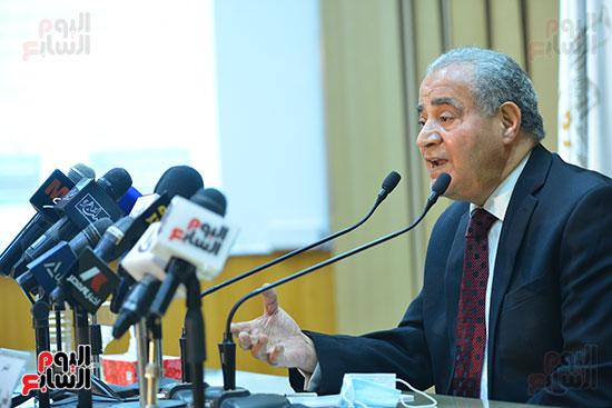 مؤتمر وزير التموين (37)