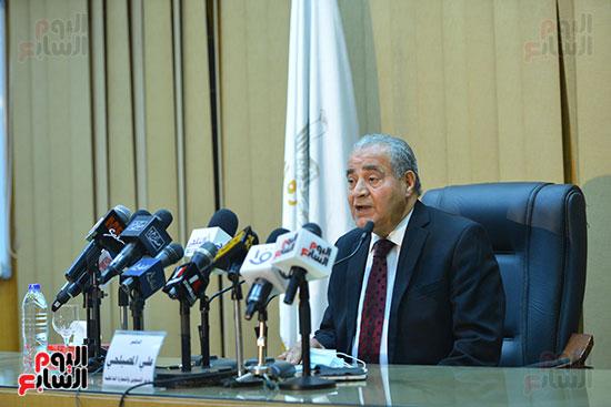 مؤتمر وزير التموين (1)