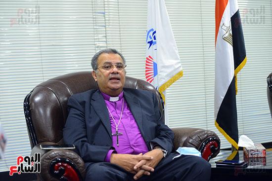 الدكتور القس أندرية زكى رئيس الكنيسة الإنجيلية فى مصر (12)