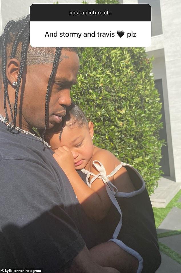 ستورمي مع والدها