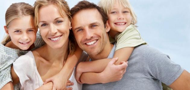 الاهتمام بالعائلة
