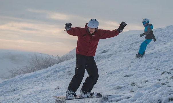 المتزلجون على الجليد