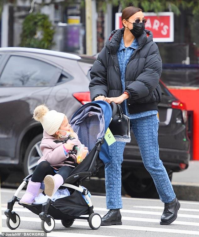 ايرينا  وابنتها ليا(4)