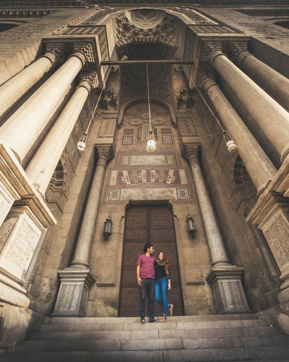 واحدة من رحلات محمد وزوجته