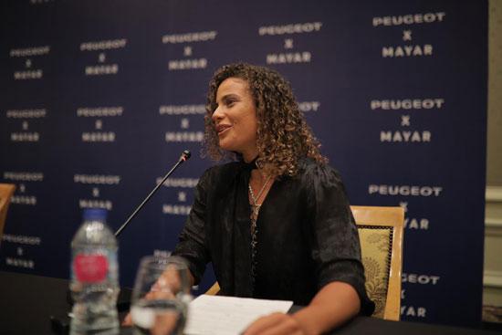 بيجو مصر توقع رعاية مع لاعبة التنس المصرية العالمية (2)