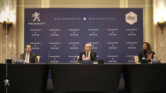بيجو مصر توقع رعاية مع لاعبة التنس المصرية العالمية (1)