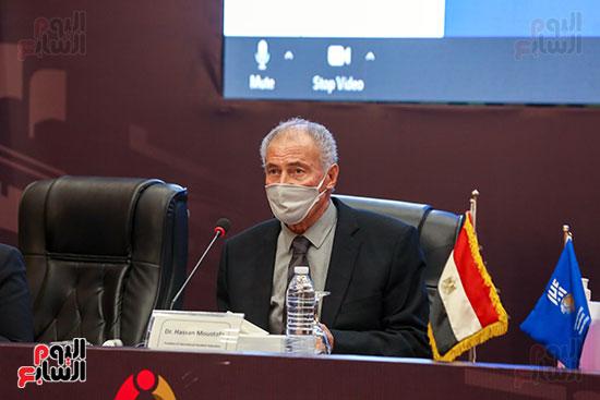 مؤتمر وزير الشباب والرياضة (7)