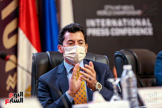 مؤتمر وزير الشباب والرياضة (29)