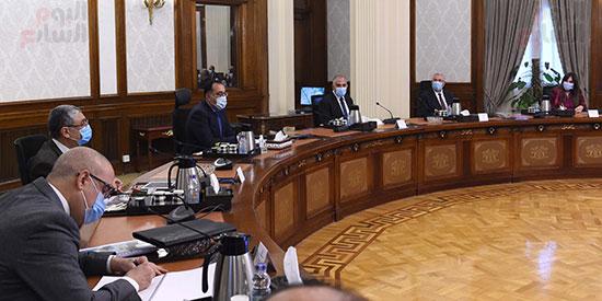 رئيس الوزراء يتابع موقف تنفيذ مشروعات تنمية الريف المصرى (2)