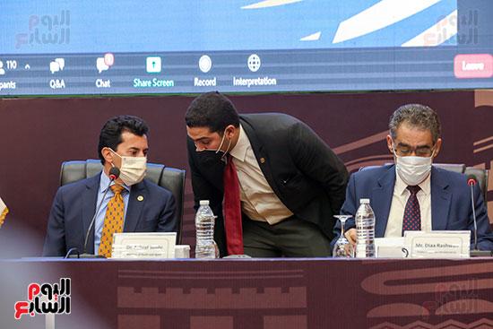 مؤتمر وزير الشباب والرياضة (6)