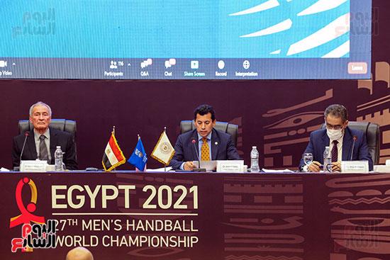مؤتمر وزير الشباب والرياضة (25)