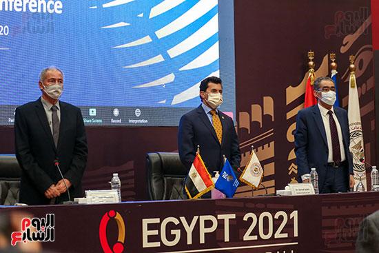 مؤتمر وزير الشباب والرياضة (13)