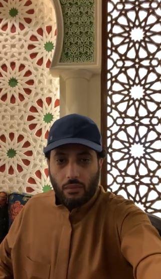 تركى آل الشيخ  في بث مباشر