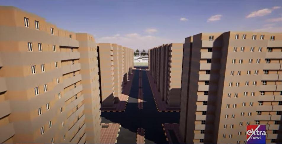 مشروعات سكنية في فيديو ثلاثي الأبعاد