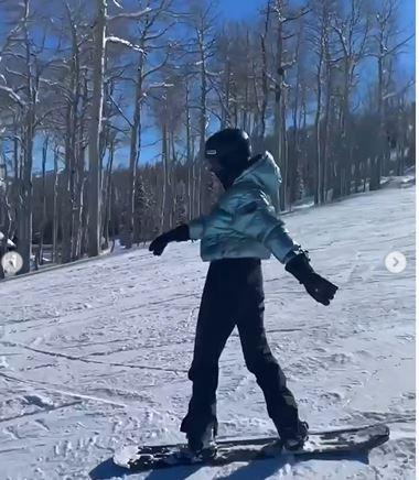 لقطة من فيديو نشرته كايلي جينر